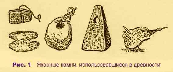 древние якорные камни